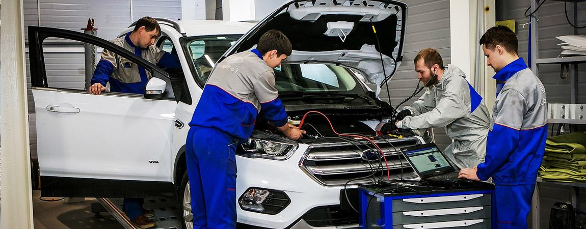 Техническое обслуживание автомобиля в Астрахани