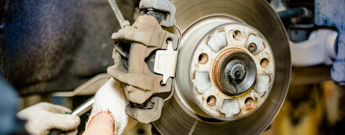 Замена передних тормозных колодок в Астрахани